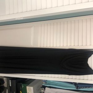 Black strapless jump suit